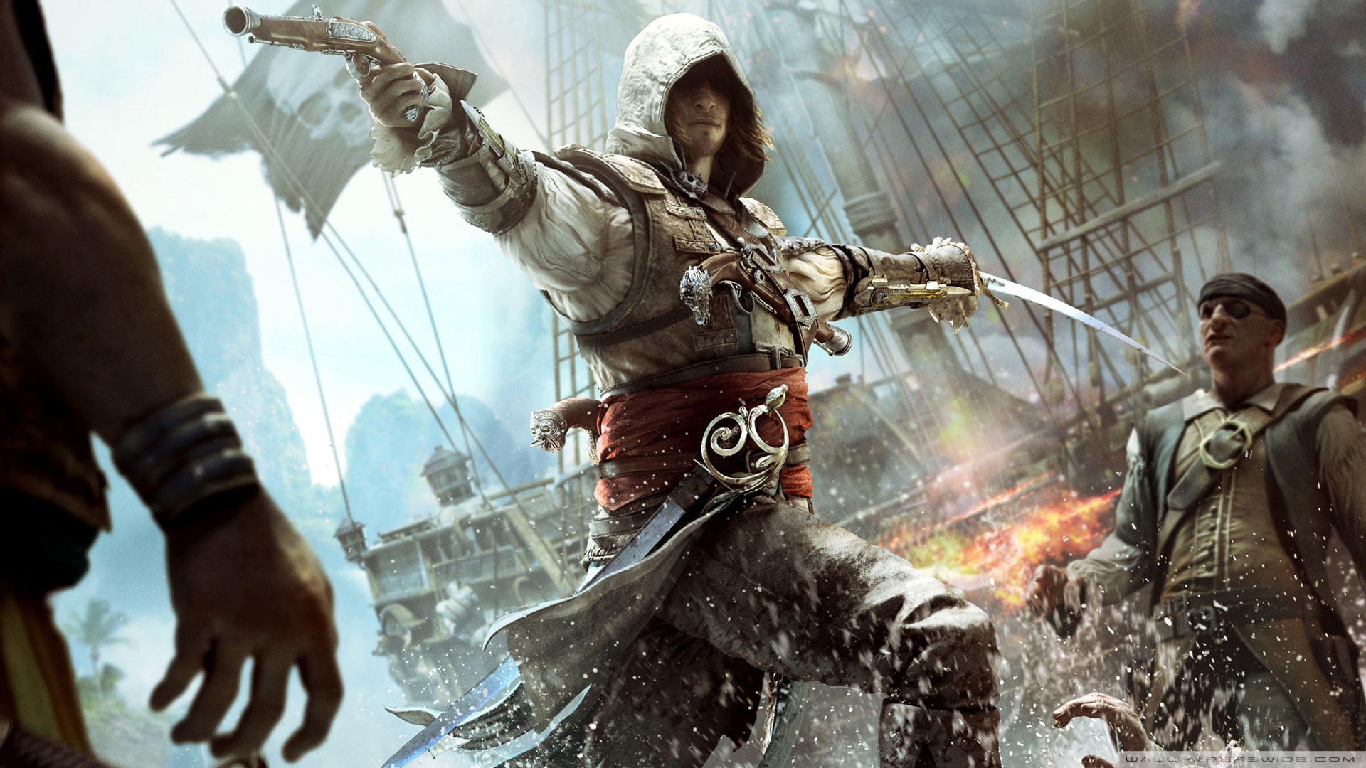 Epic Assassins Creed Wallpaper Posted By John Johnson