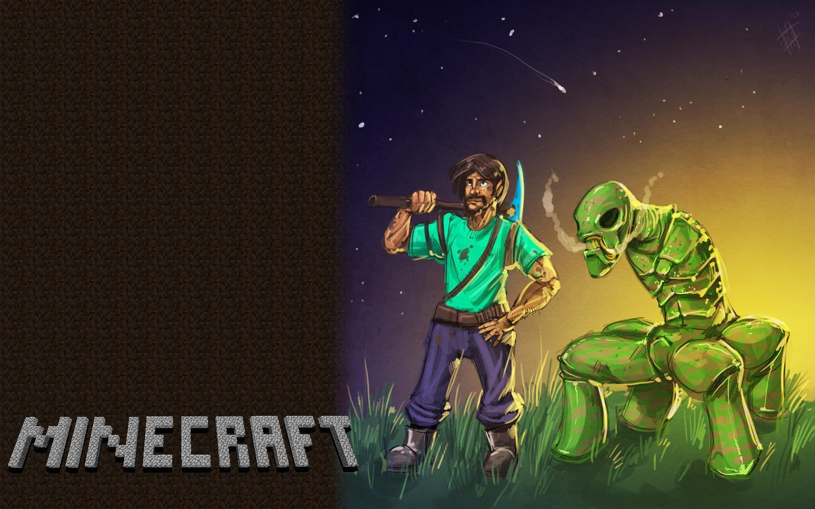 Epic Minecraft Wallpapers Posted By Michelle Peltier