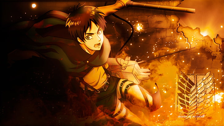 Eren Yeager Wallpapers Posted By John Mercado