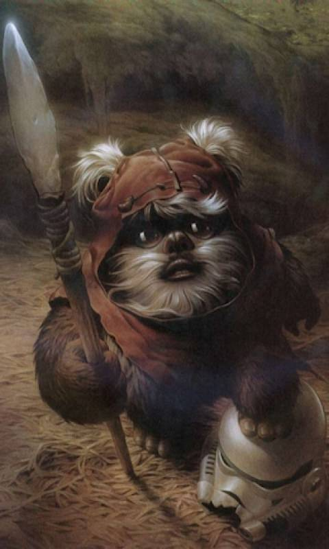 Ewok Wallpaper Posted By Samantha Sellers