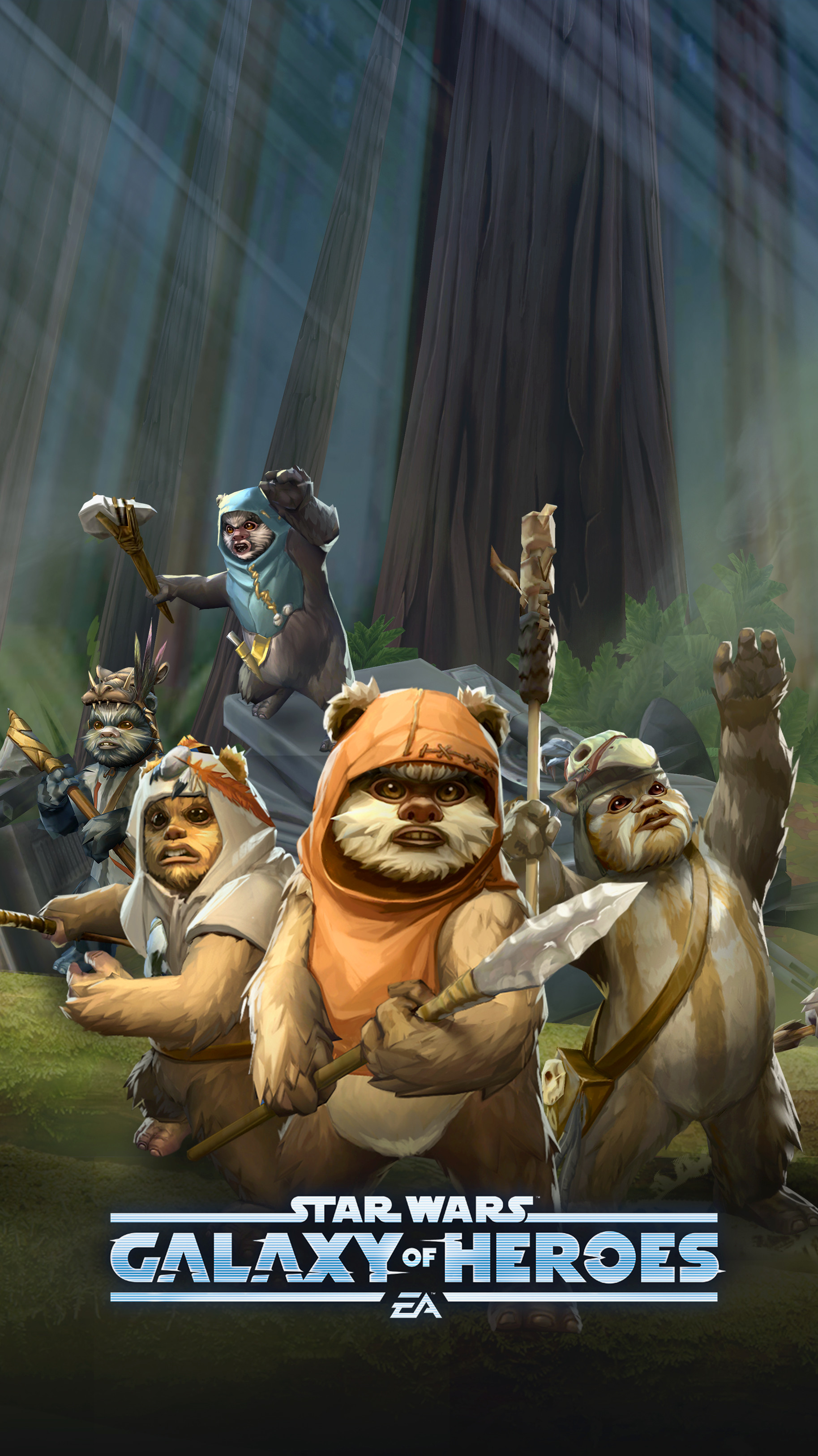 Ewoks Wallpaper Posted By Zoey Simpson