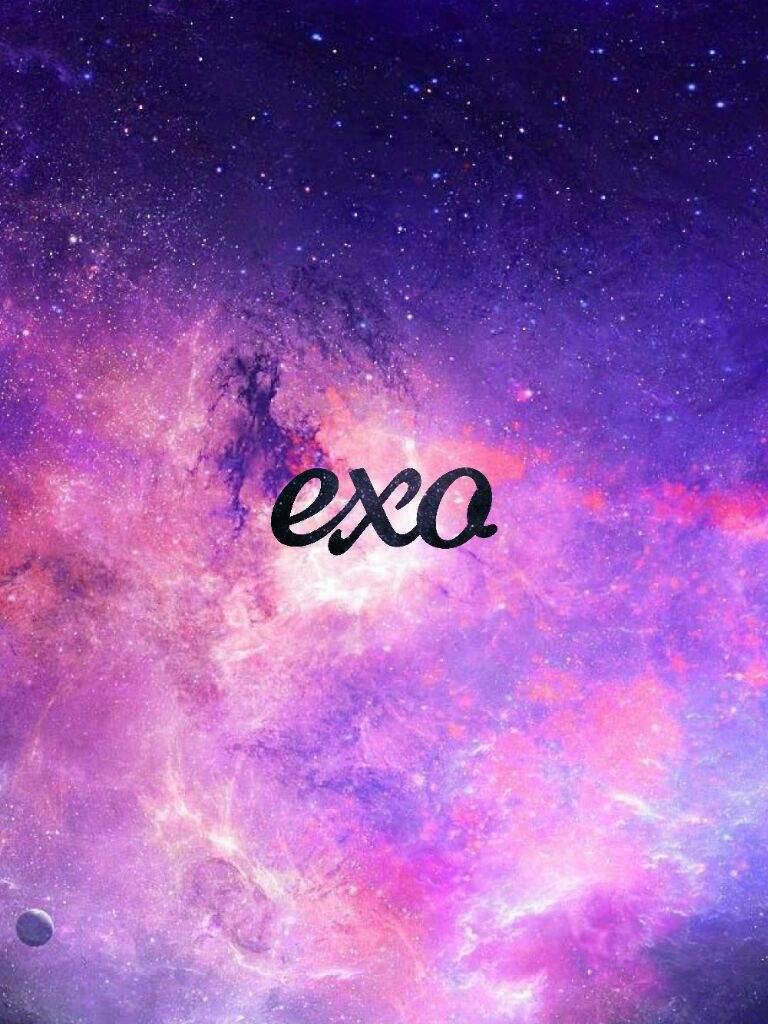 User Uploaded Image Galaxy Exo Logo Wallpaper Hd Free