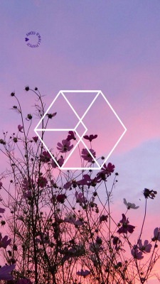exo logo lockscreen Tumblr