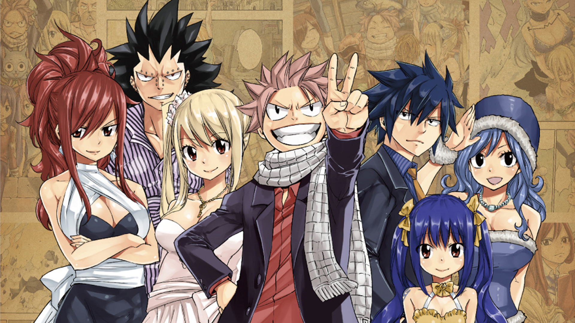 Fairy Tail Laptop Wallpaper Posted By Sarah Tremblay