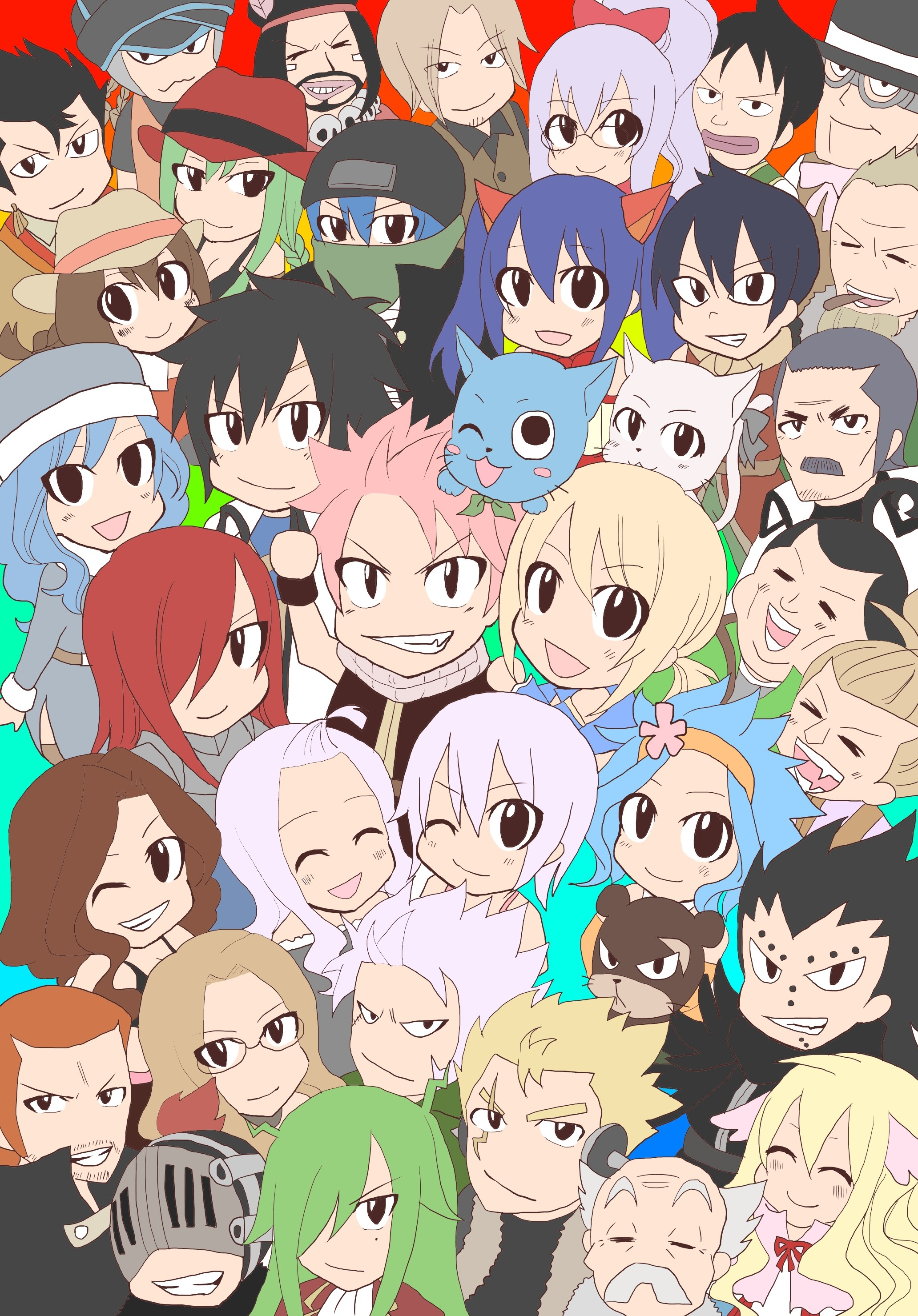Fairy Tail Wallpaper Iphone Posted By Ryan Simpson