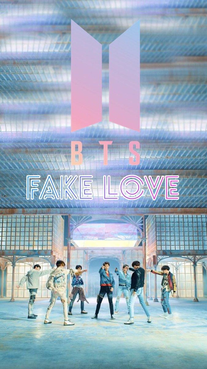 K pop Wallpapers Edits on Twitter BTS Fake Love Wallpaper