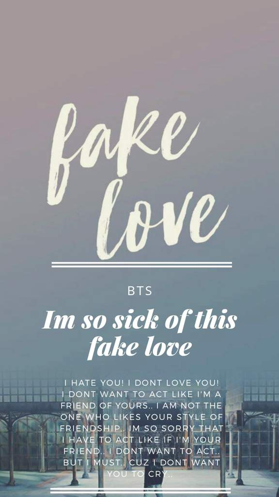 My Wallpapers Lockscreen Bts Wallpaper Fake Love, Hd