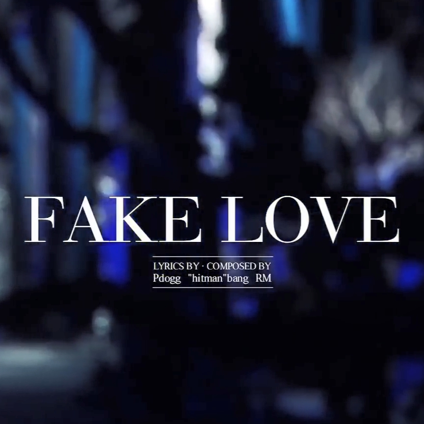 Bts Fake Love Wallpaper Darkness Hd Wallpapers