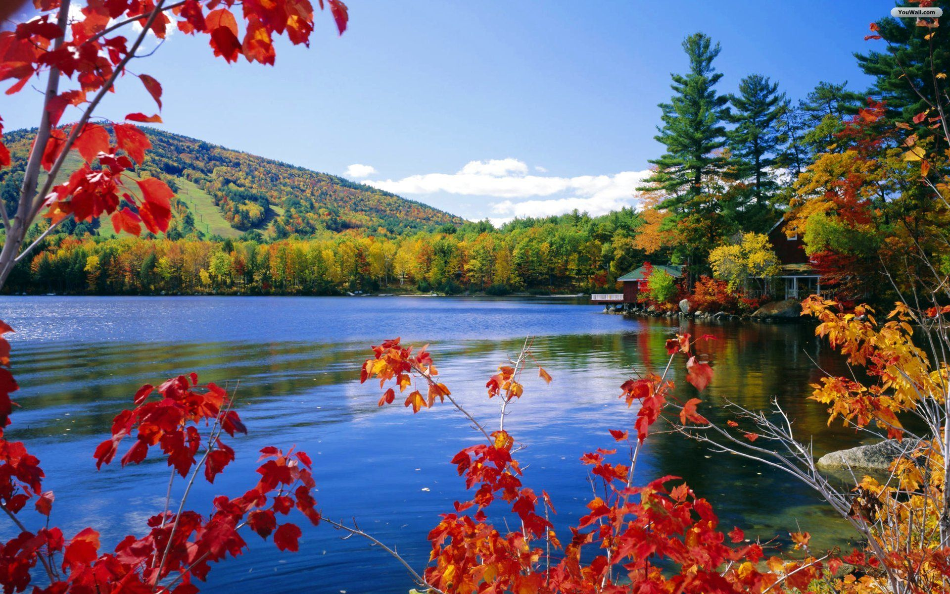 Fall Pictures For Desktop Background Posted By John Walker