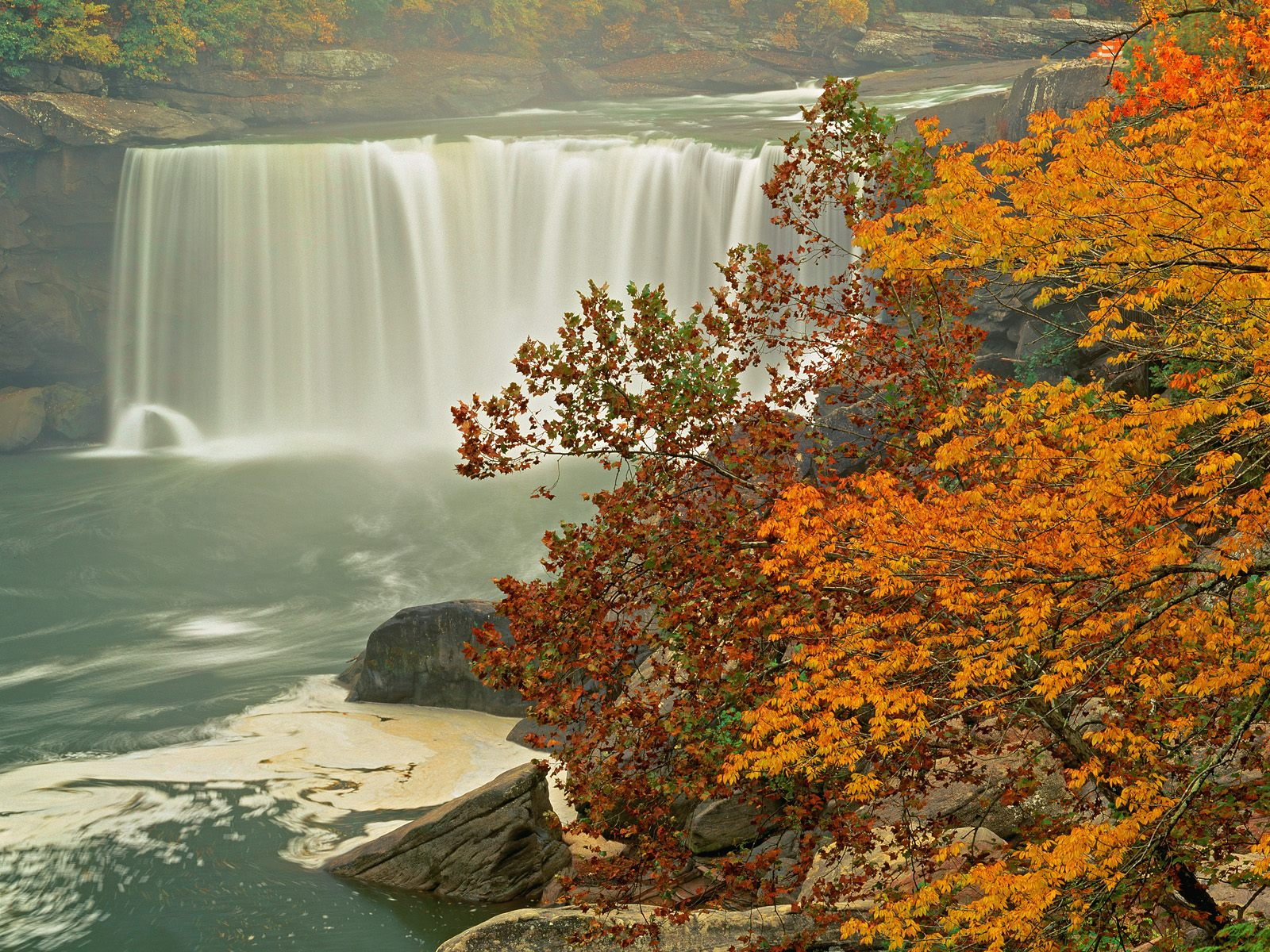 Fall Scenes Wallpaper Posted By Christopher Thompson