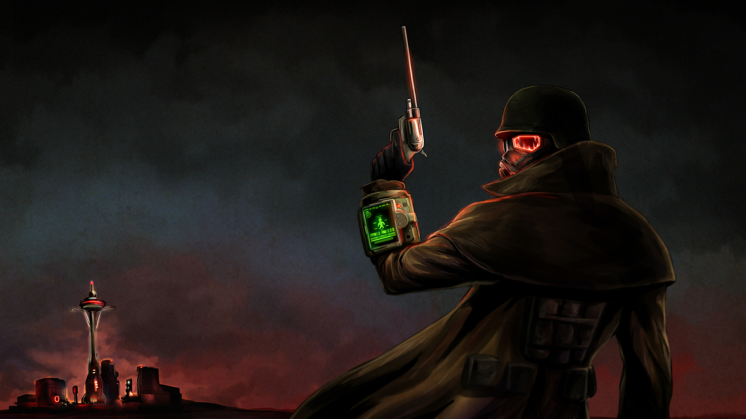 Fallout New Vegas Ranger Wallpaper Posted By Sarah Mercado