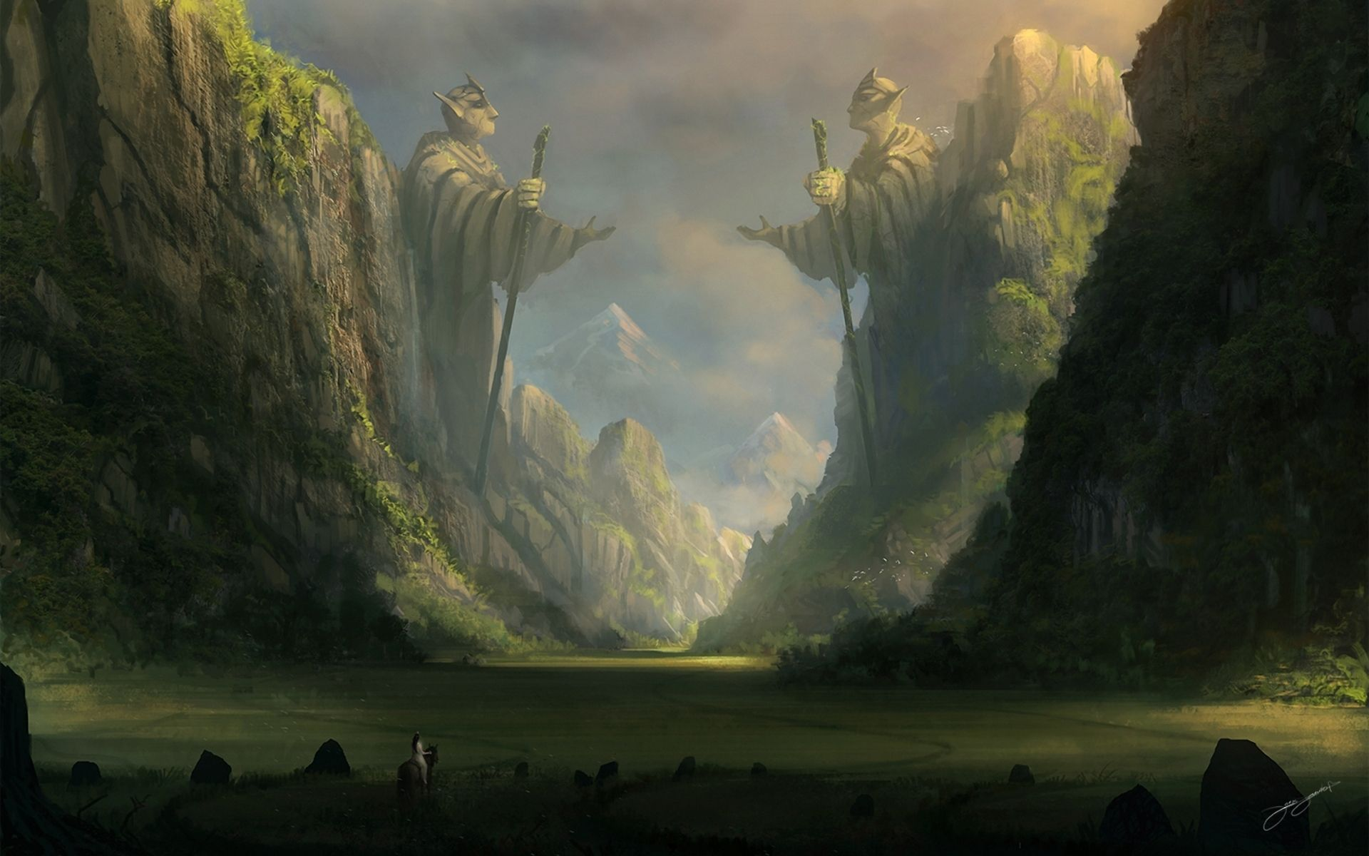 Fantasy Landscape Wallpaper 4k Posted By Zoey Anderson
