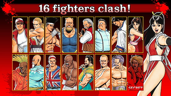 Fatal Fury Wallpapers Posted By Sarah Mercado