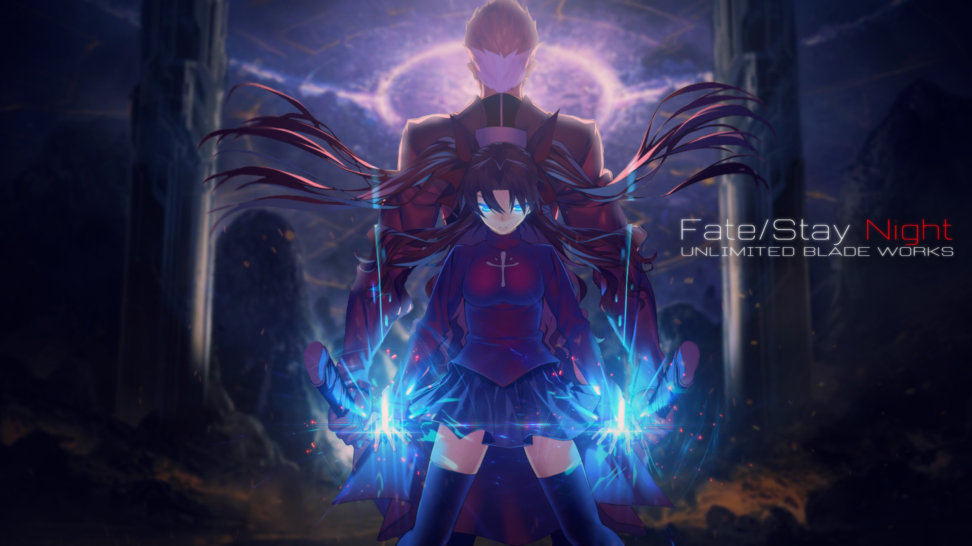 Fate Stay Night Wallpaper Hd Posted By Ethan Anderson