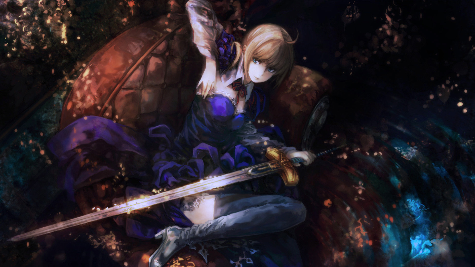 Fate Zero Hd Wallpaper Posted By John Johnson