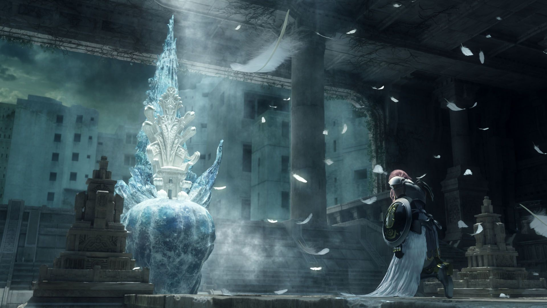 Final Fantasy 13 Cocoon Wallpaper Posted By Christopher Mercado