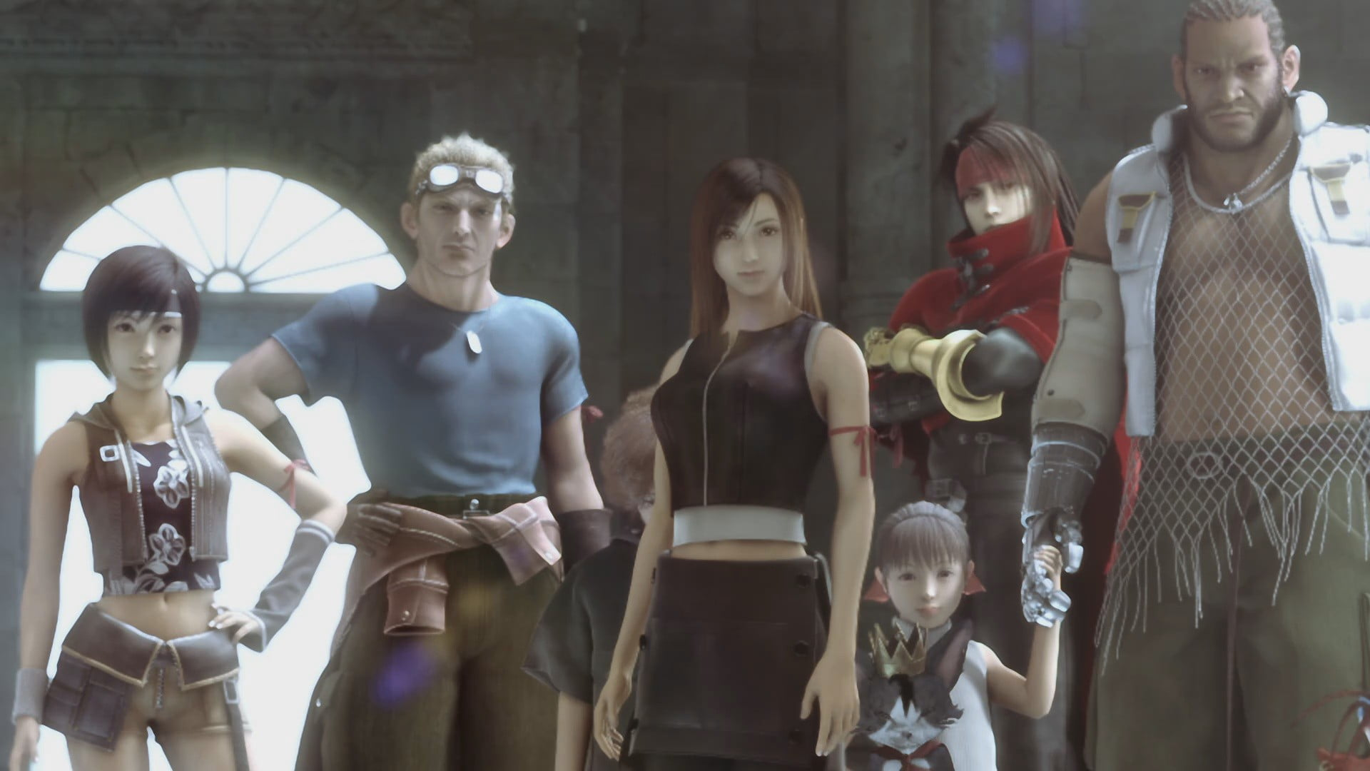Final Fantasy 7 Advent Children Wallpaper Posted By Christopher