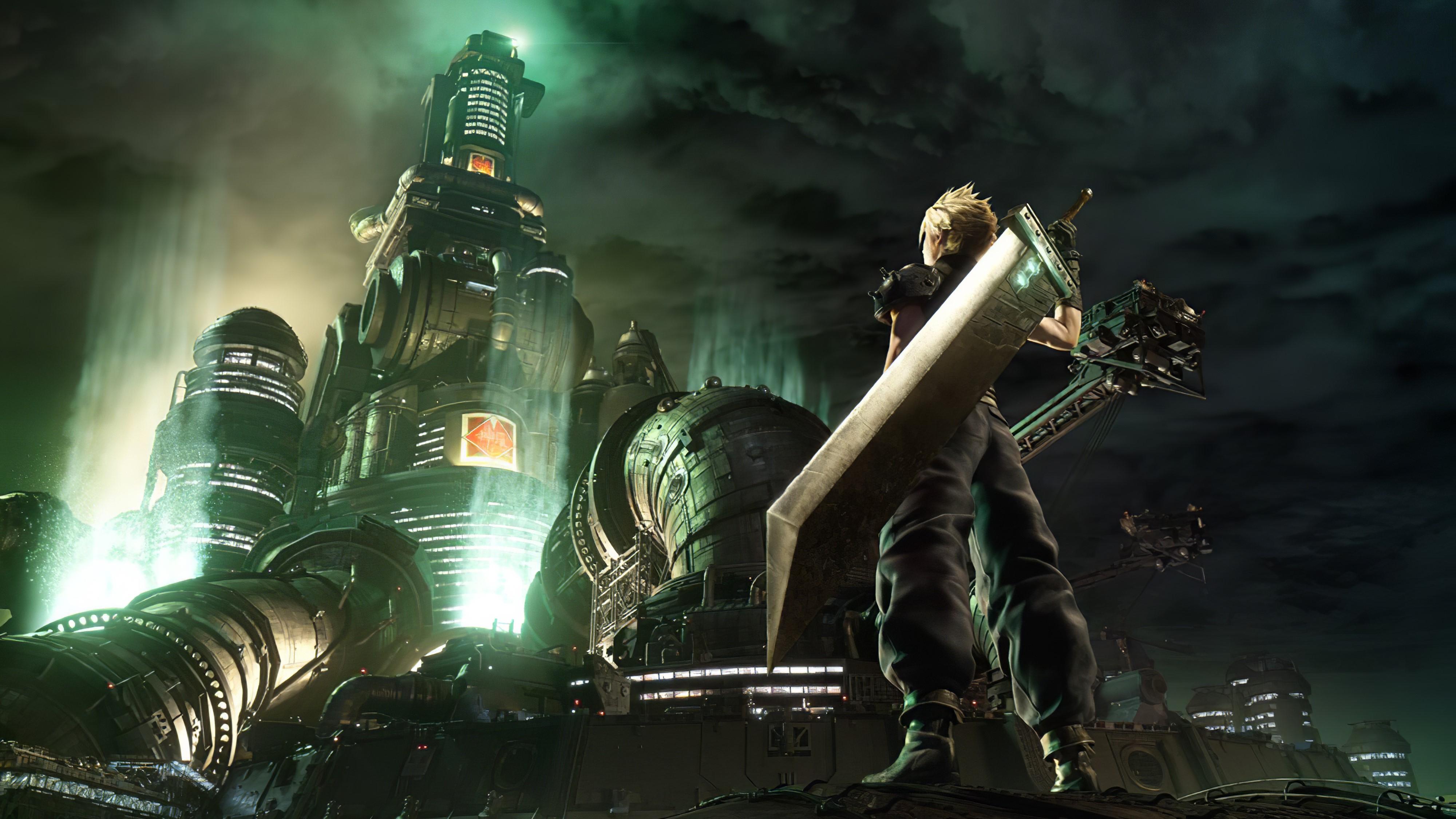 Final Fantasy 7 Remake Wallpaper 4k Posted By Sarah Tremblay