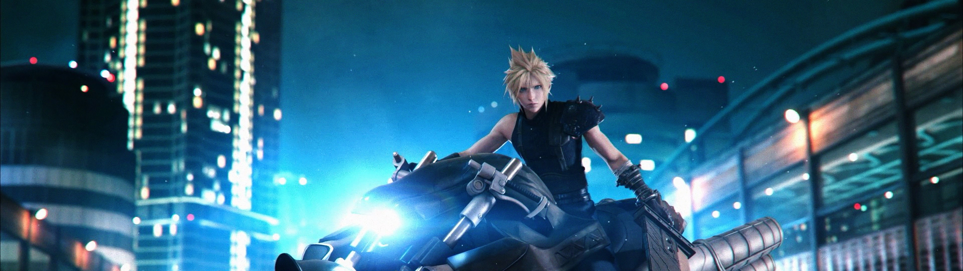 Final Fantasy Dual Monitor Wallpaper Posted By Michelle Anderson
