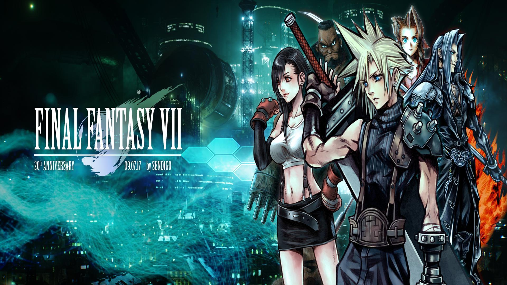 Final Fantasy Vii Wallpaper Posted By Samantha Johnson