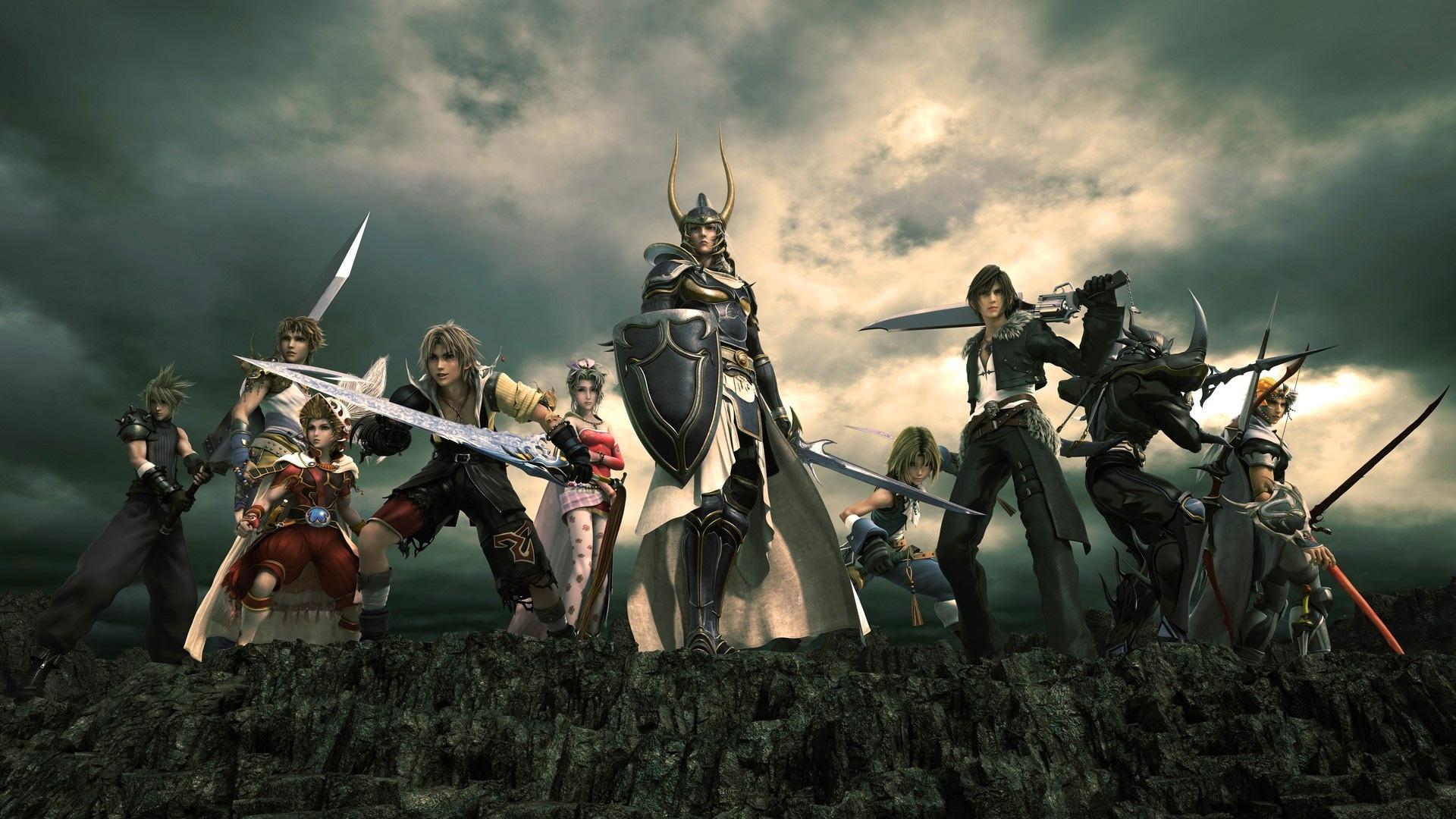DISSIDIA Final Fantasy NT Wallpapers in Ultra HD 4K