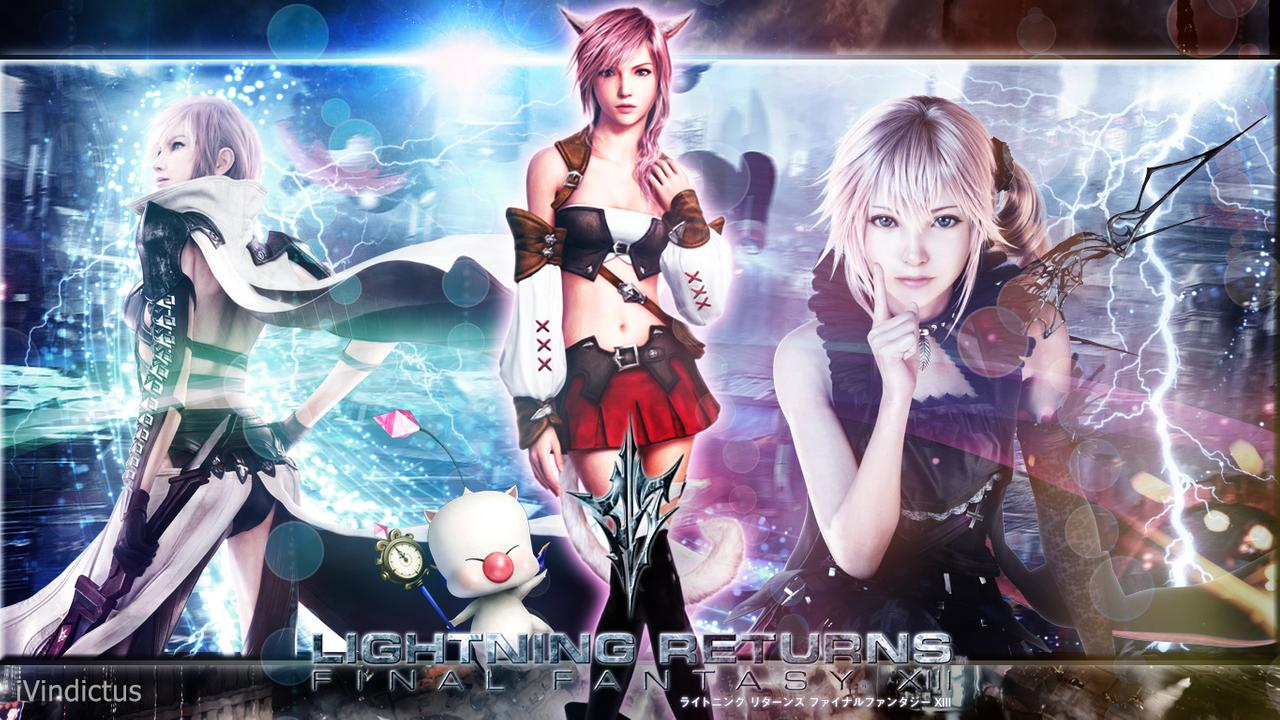 Final Fantasy Xiii Wallpaper Posted By John Tremblay