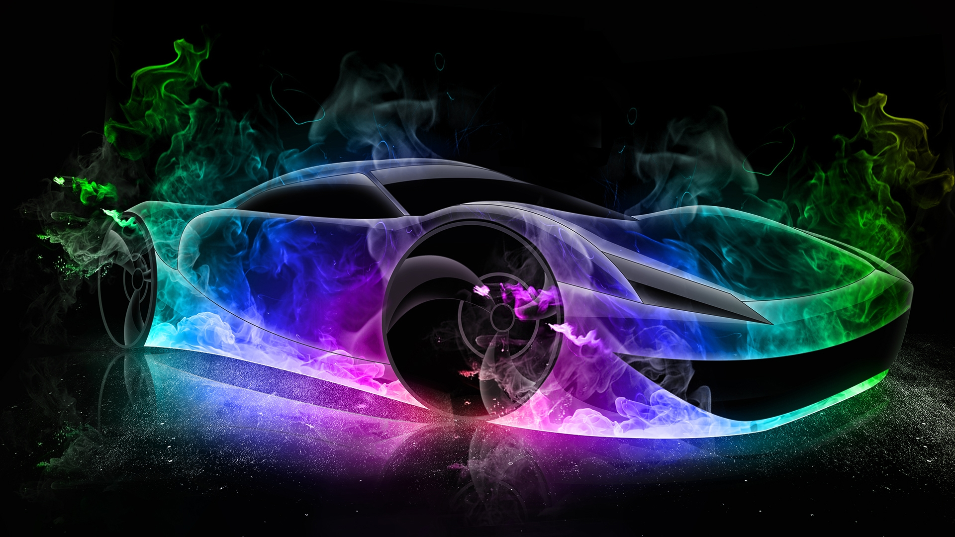 Fire Car Wallpaper Posted By John Simpson