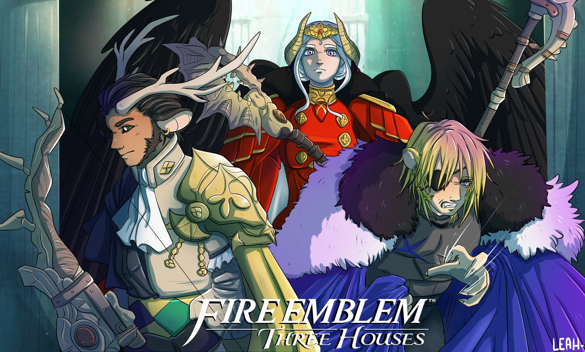 Fire Emblem Three Houses Phone Wallpaper Posted By Zoey Walker