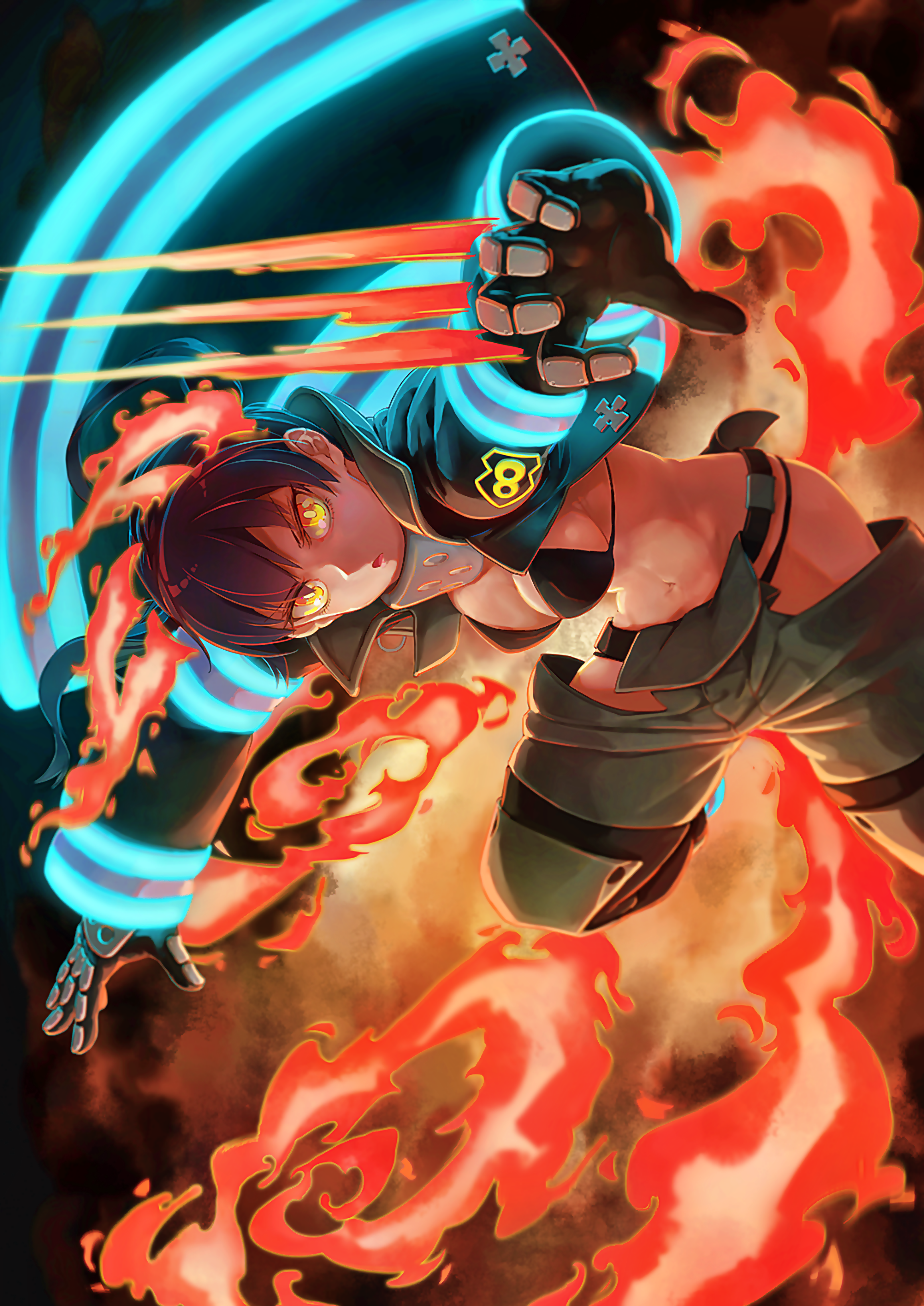 Fire Force Wallpapers Posted By John Anderson Unsplash has the perfect desktop wallpaper for you. cutewallpaper org