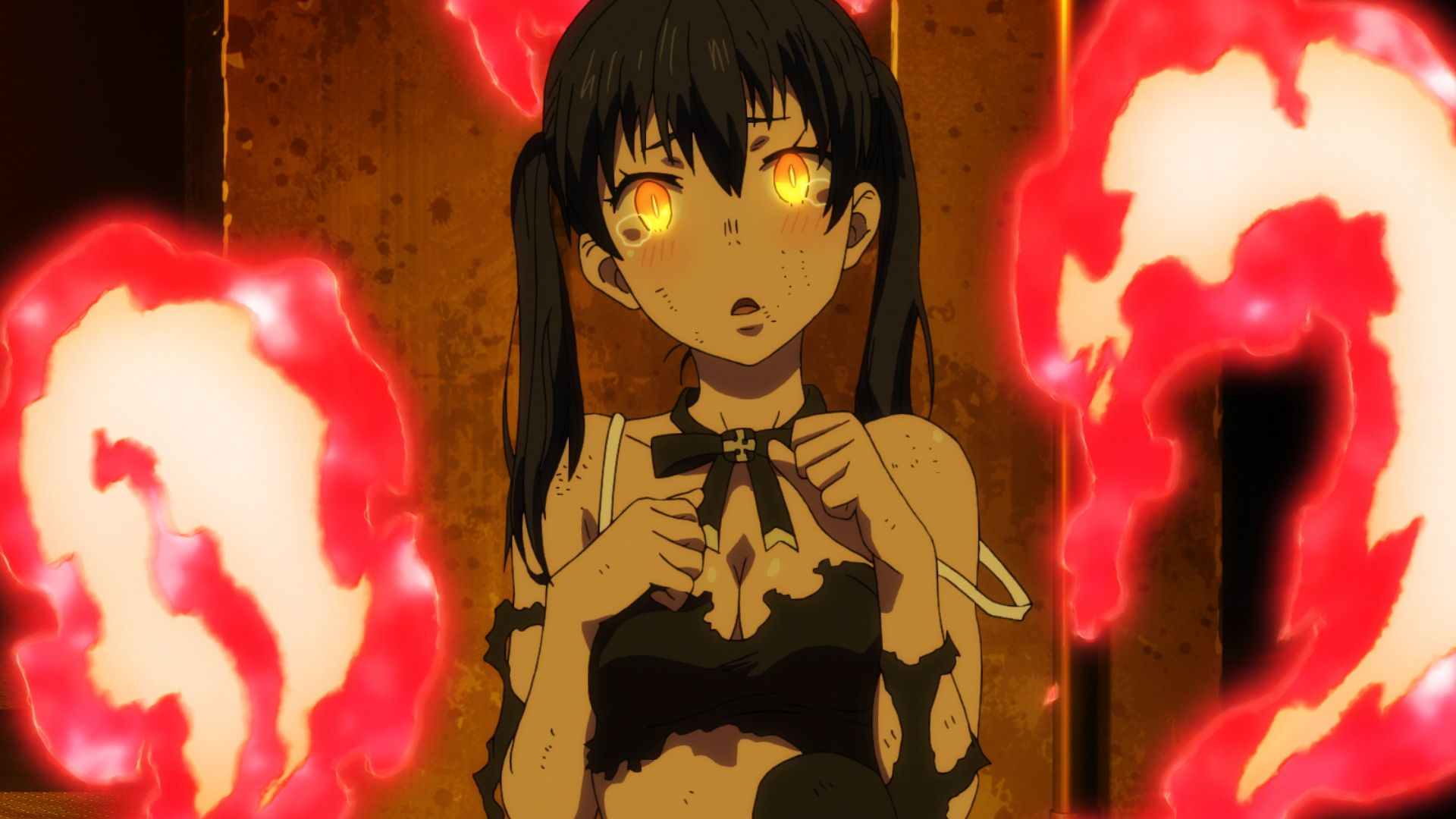 Fire Force Wallpapers Posted By John Anderson Fire force (enen no shouboutai). fire force wallpapers posted by john