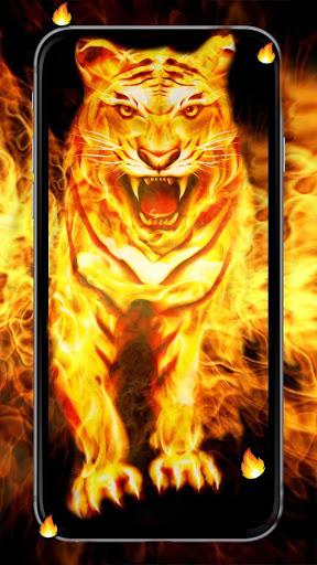 King Fire Lion Live Wallpaper Latest version apk