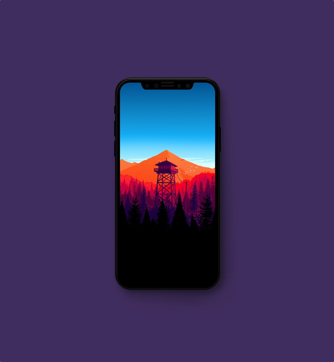 Firewatch Wallpaper posted by Michelle Simpson