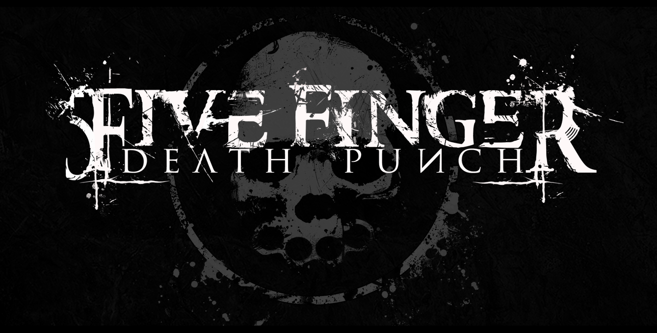Five Finger Death Punch Logo Wallpaper Posted By Michelle Sellers