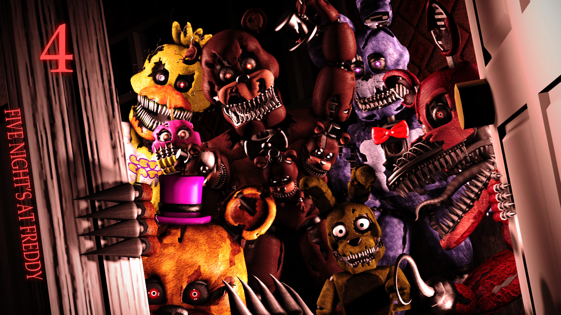 Five Nights Of Freddy Wallpaper Posted By Michelle Walker