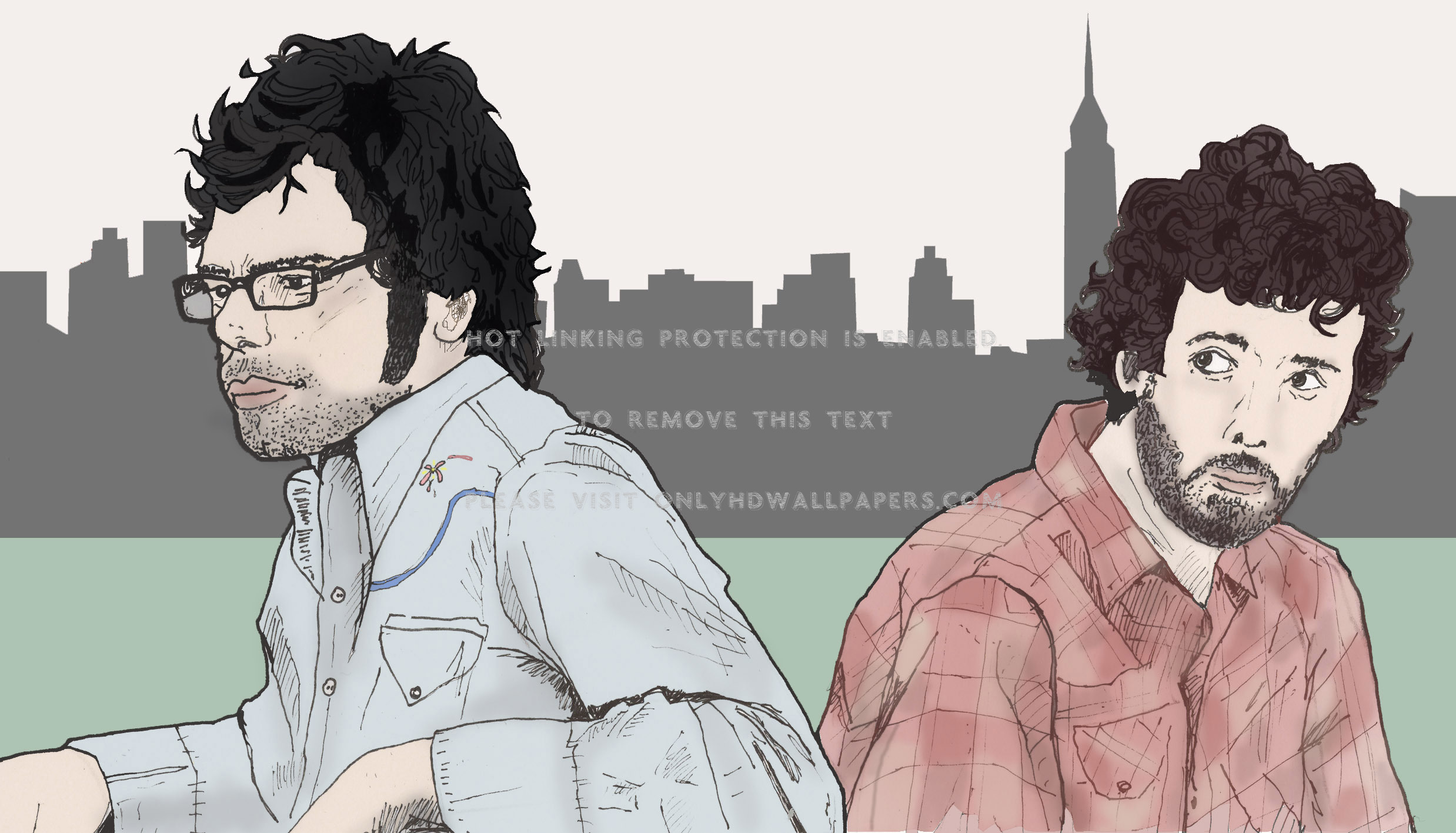 Flight Of The Conchords Wallpaper Posted By Zoey Cunningham