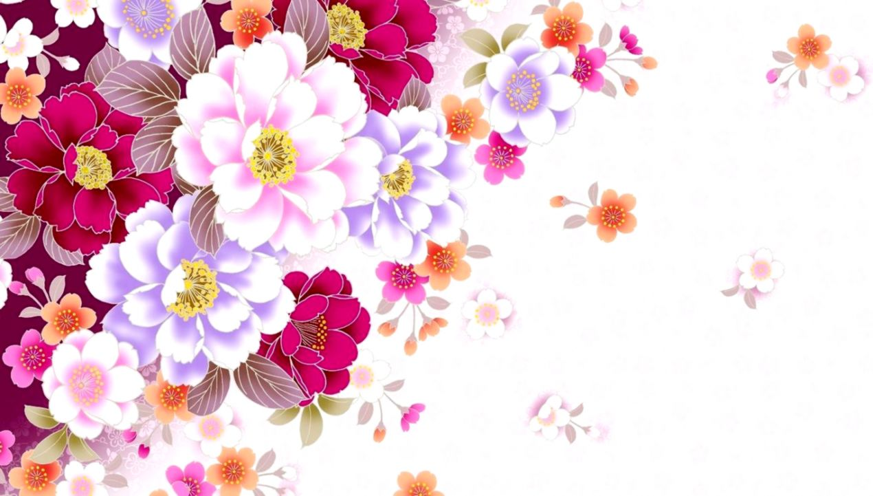 Floral Laptop Wallpaper Posted By Ryan Anderson