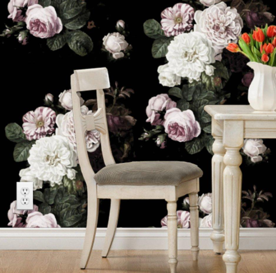 Floral Removable Wallpaper Posted By Sarah Peltier