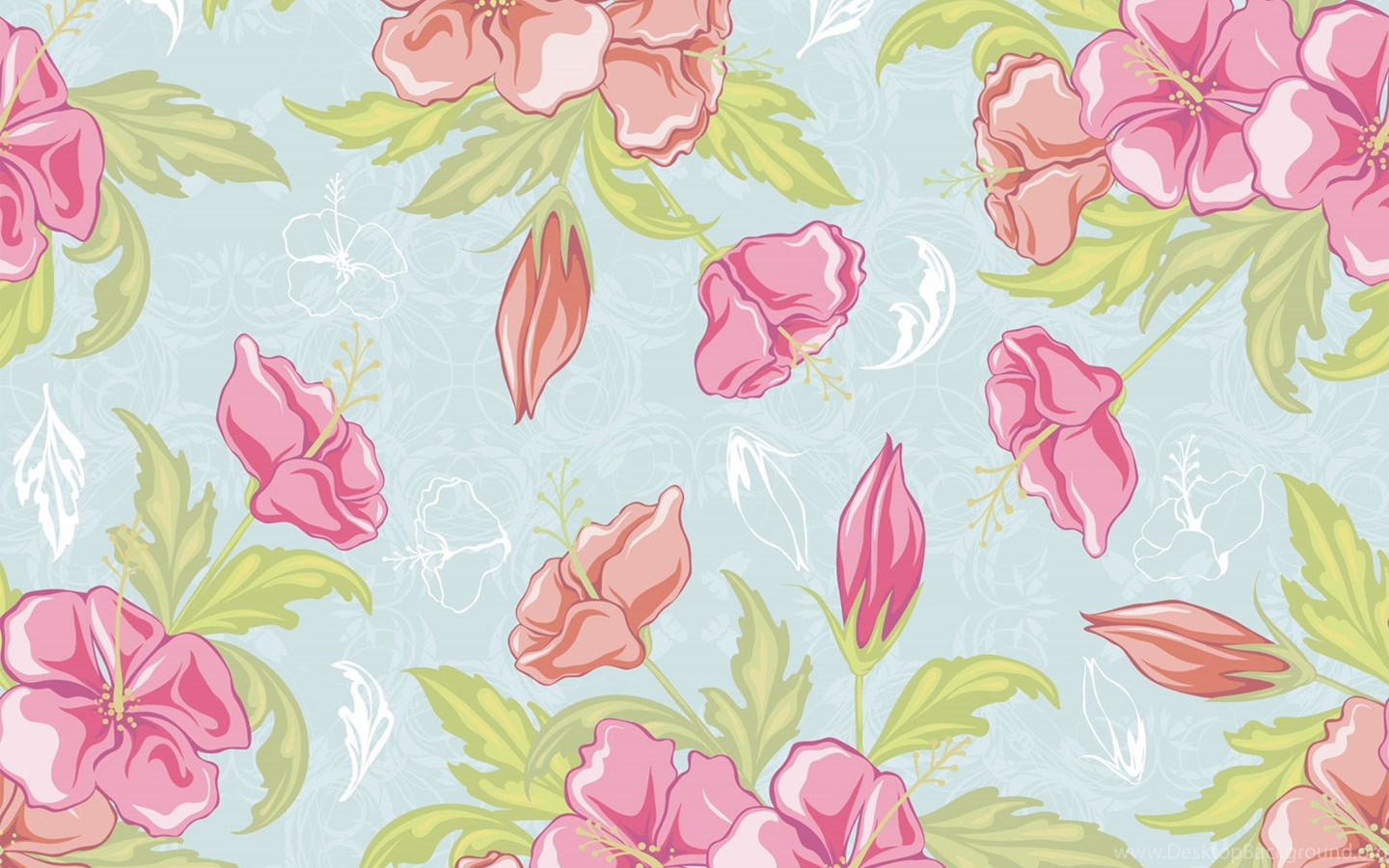 Floral Vintage Wallpapers Posted By Ryan Simpson