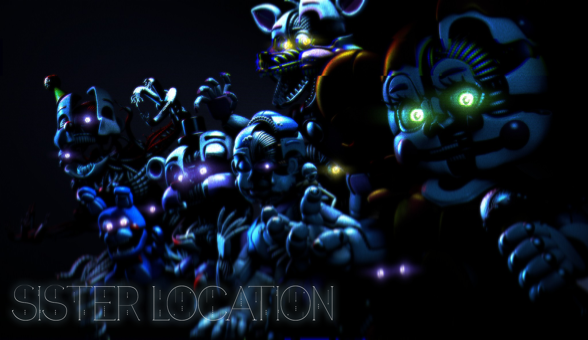 Fnaf Sister Location Wallpaper