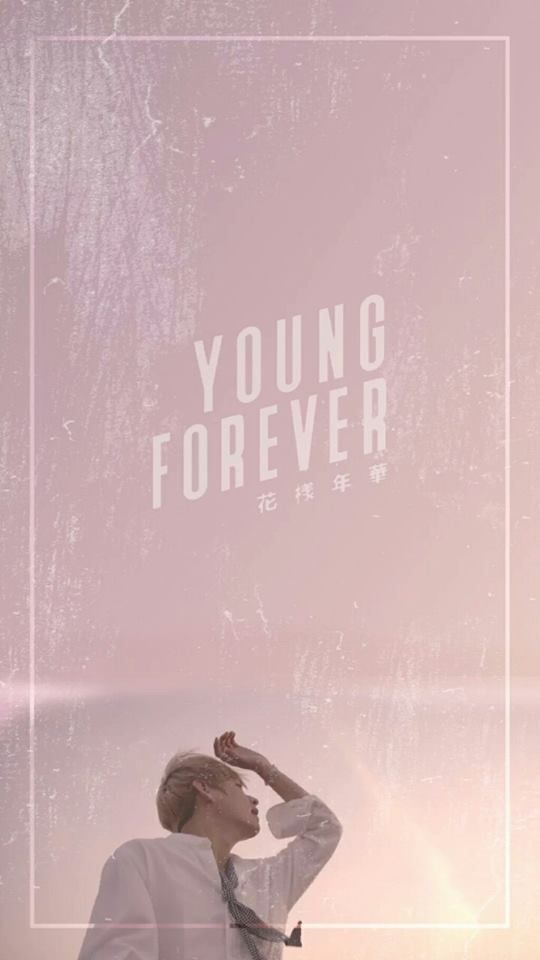 Download Wallpaper Bts V Young Forever, Hd Wallpapers