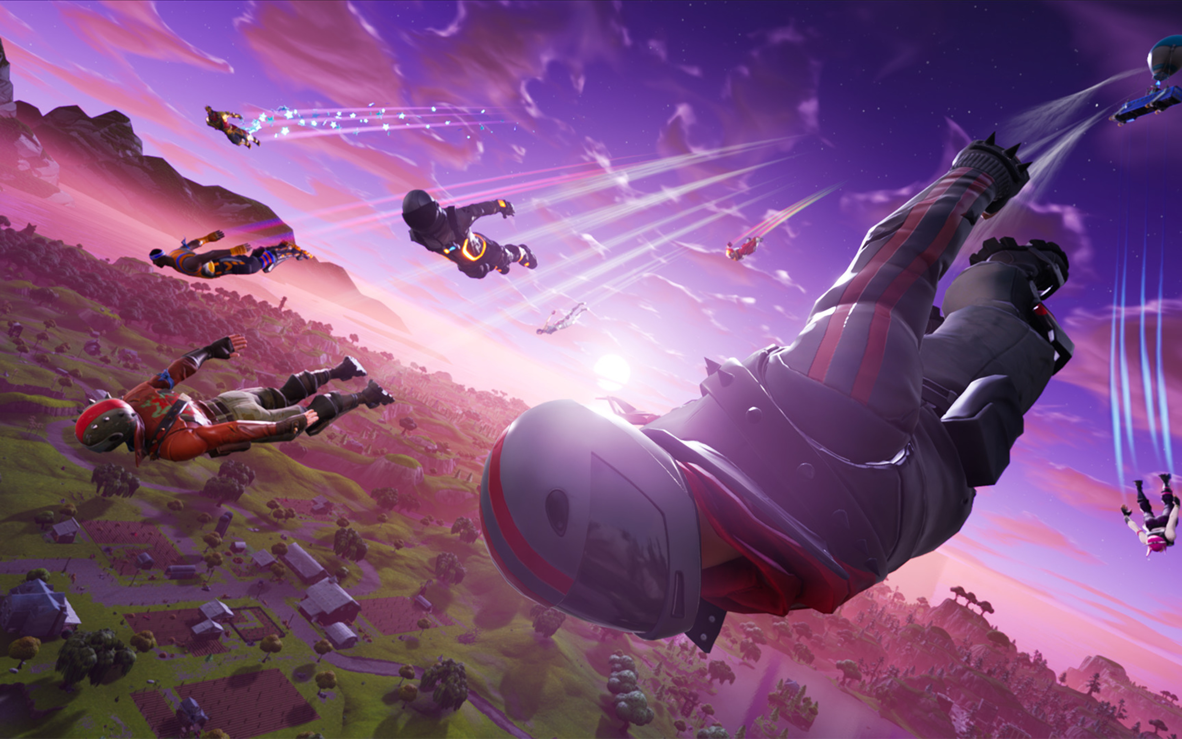 Fortnite 4k Wallpapers Posted By Ethan Simpson