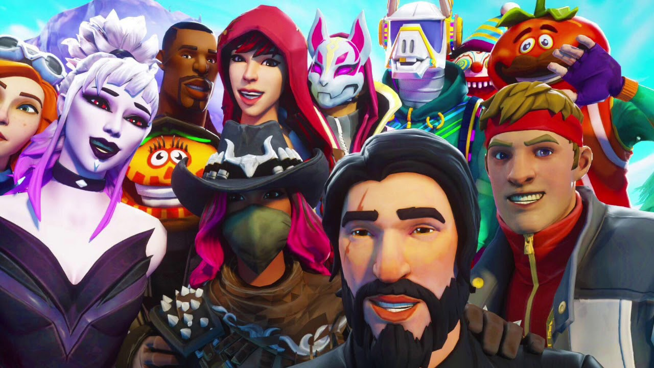 Fortnite Characters Wallpapers Posted By John Thompson