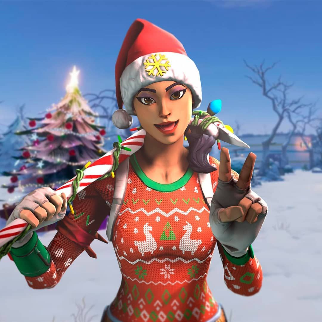 Fortnite Christmas Wallpaper Posted By Samantha Sellers