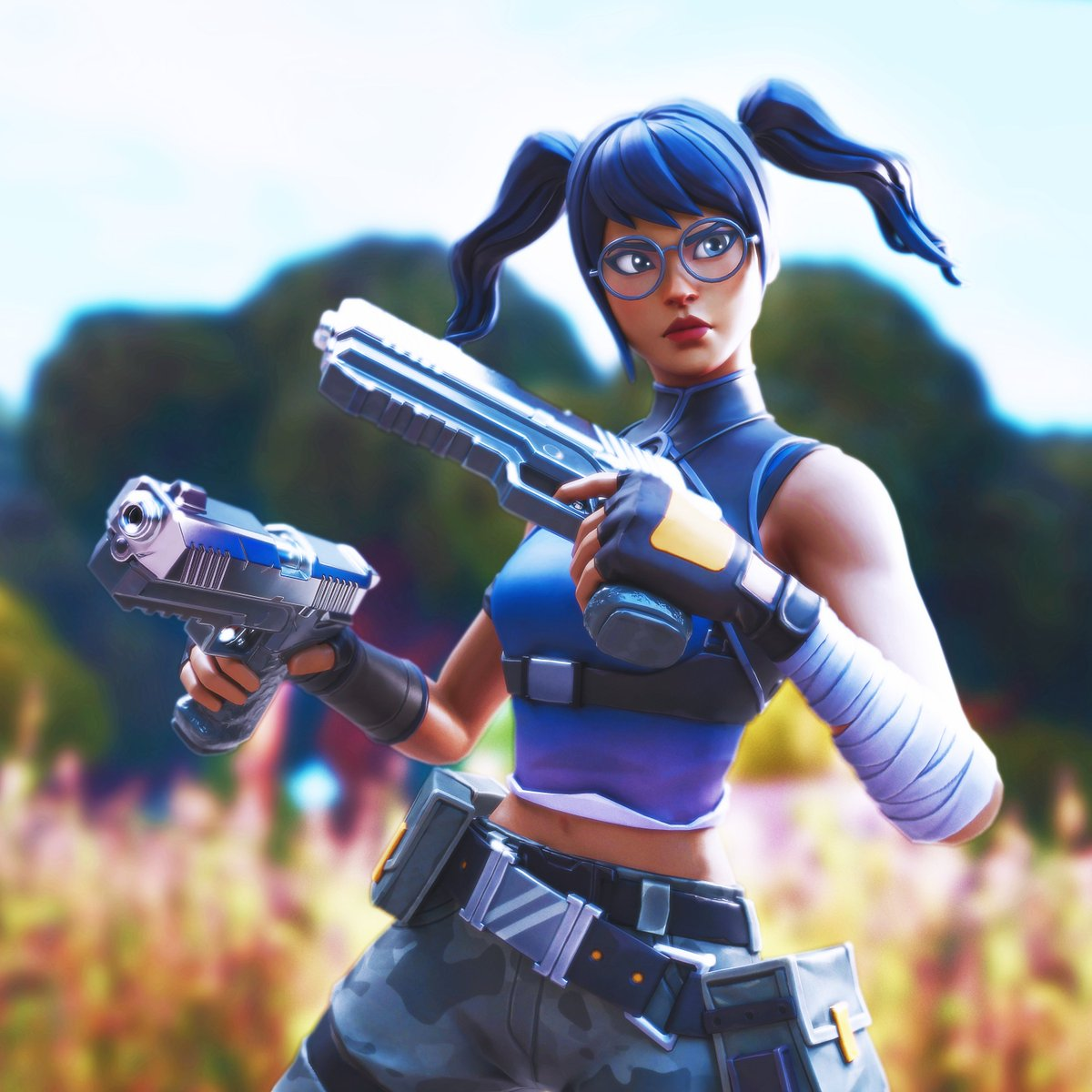 Fortnite Crystal Skin Posted By Zoey Sellers