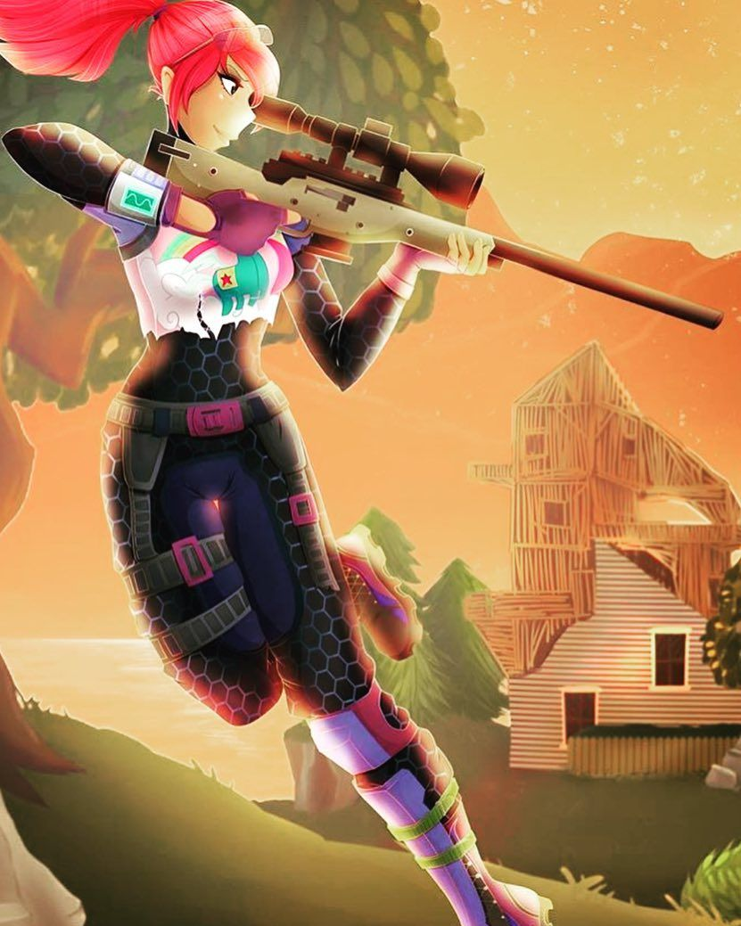 Fortnite Fan Art Wallpapers Posted By Samantha Sellers