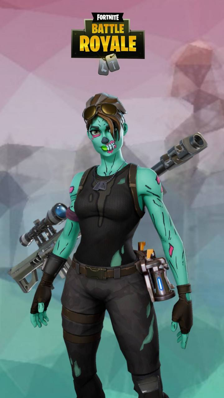 Fortnite Ghoul Trooper Wallpaper Posted By Christopher Thompson