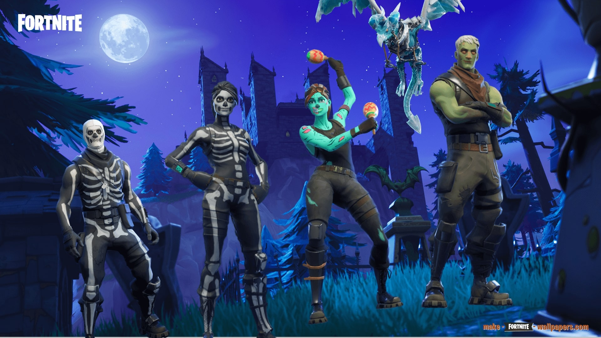 Fortnite Halloween Background Posted By Ethan Thompson