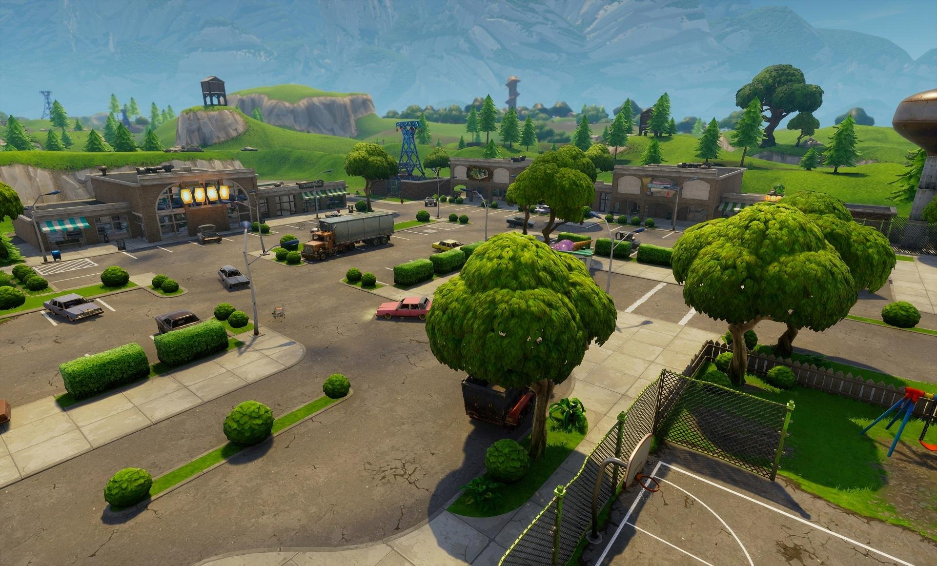 Fortnite Landscape Hd Posted By Ethan Mercado