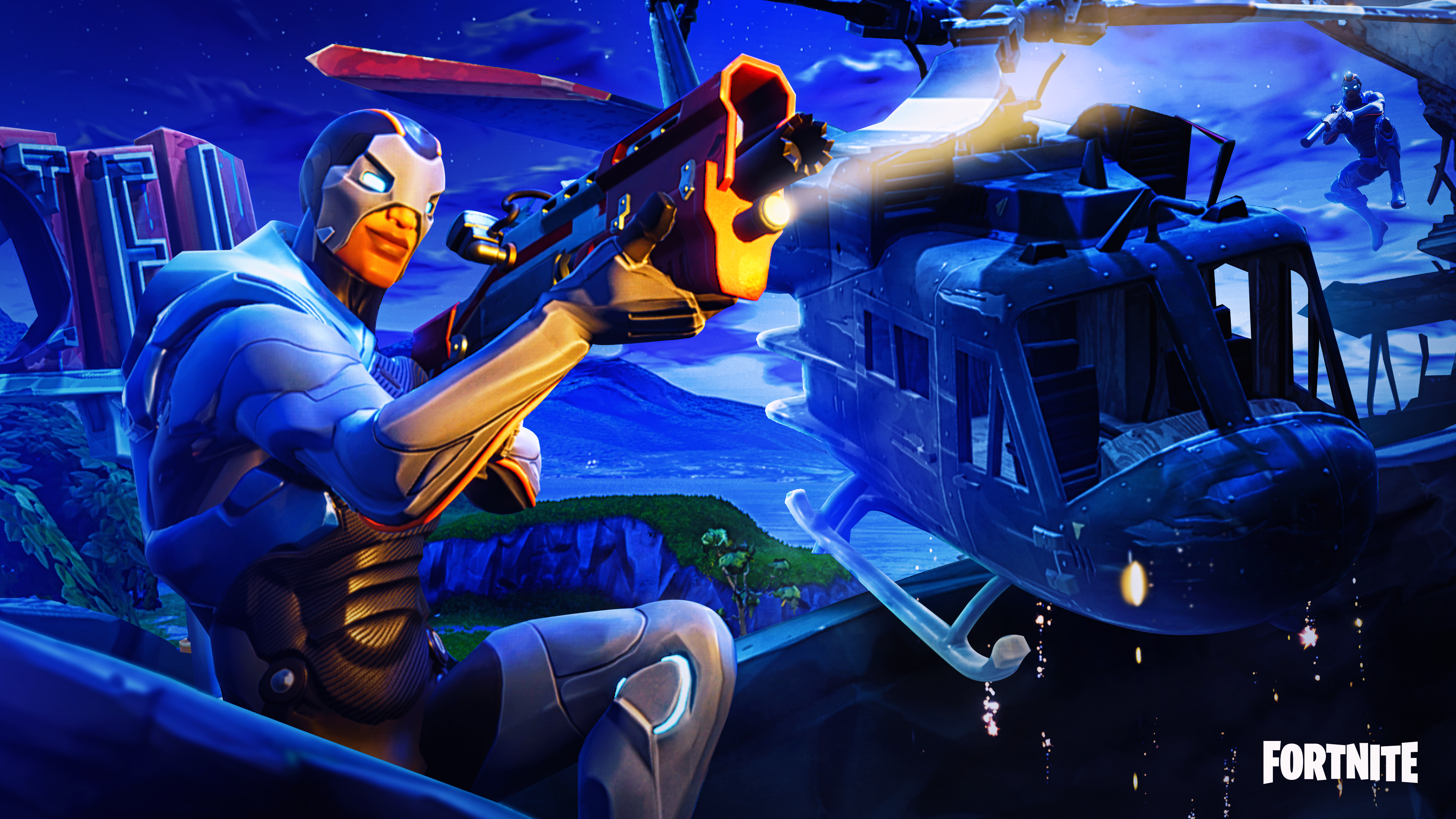 Fortnite Season 4 Wallpaper Posted By Zoey Cunningham
