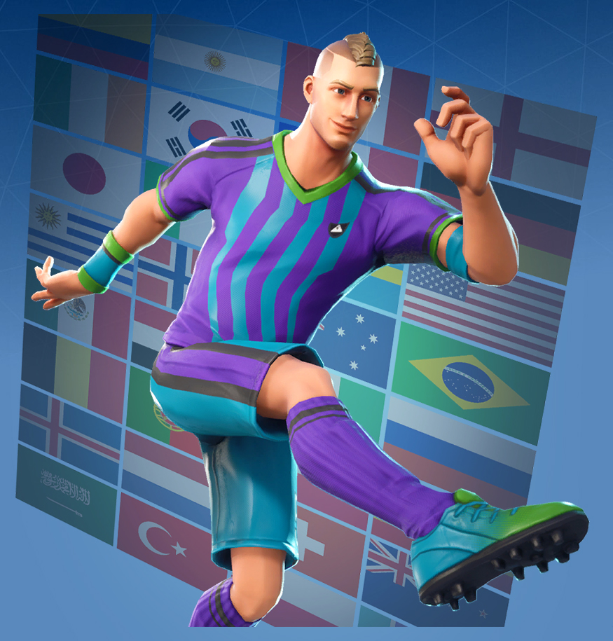 Fortnite Soccer Skins Png Posted By Christopher Johnson